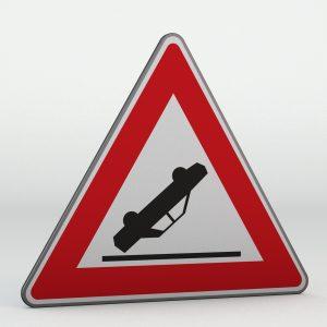 Dopravní značka A27 | Nehoda