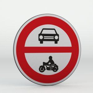 Dopravní značka B11 | Zákaz vjezdu všech motorových vozidel