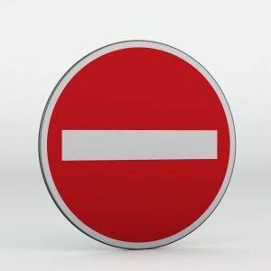 Dopravní značka B2 | Zákaz vjezdu všech vozidel