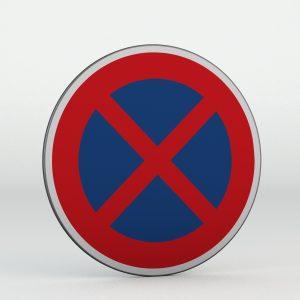Dopravní značka B28 | Zákaz zastavení