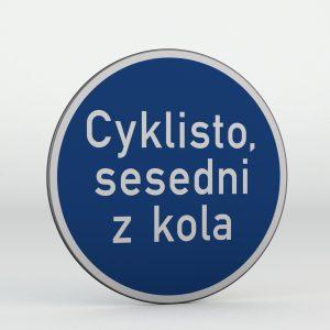 Dopravní značka C14a | Jiný příkaz