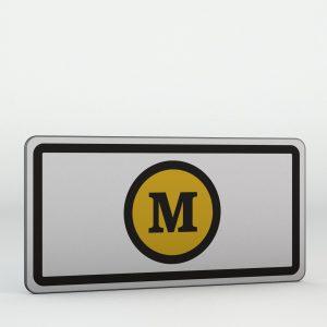 Dodatková tabulka E11d | S mýtným