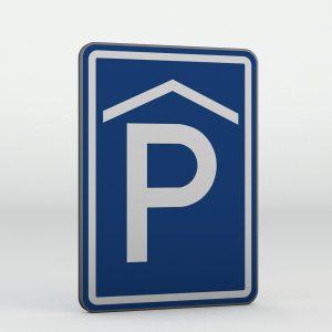 Dopravní značka IP13a | Kryté parkoviště