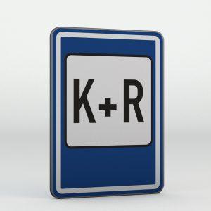 Dopravní značka IP13e | Parkoviště K+R