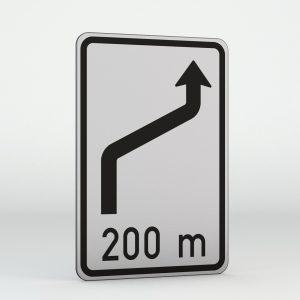 Dopravní značka IS10b | Návěst změny směru jízdy