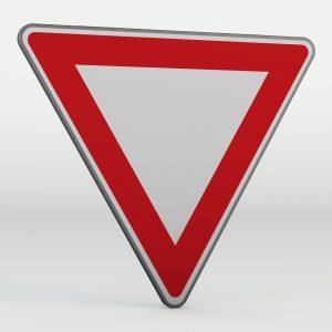 Dopravní značka P4 | Dej přednost v jízdě!